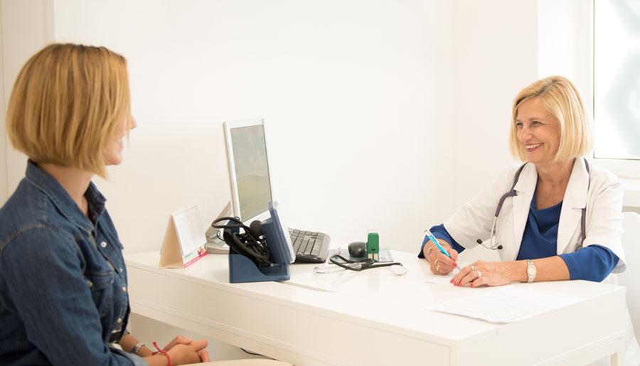 Wizyta u lekarze_fot. Klinika Demeter